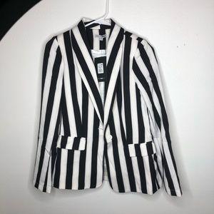 Striped Blazer set